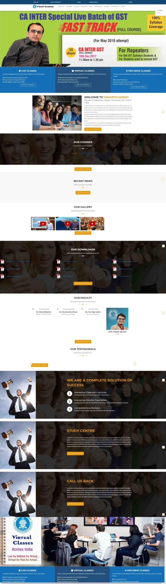 vsmartacademy-website