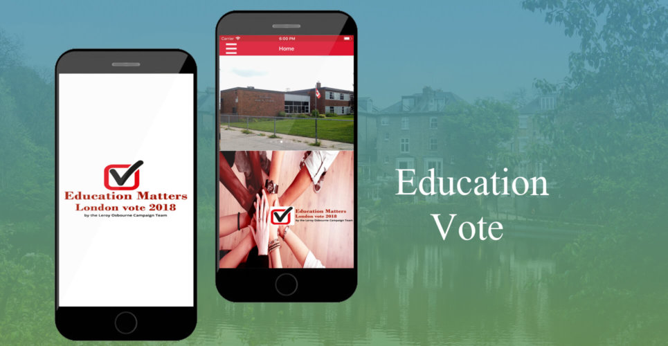 College Voting App – Education Vote